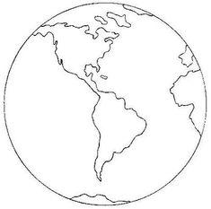 mundo para colorir