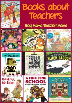Boy Mama Teacher Mama: Books about Teachers