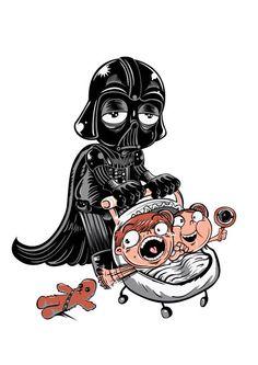 Para ser padre se necesita una dosis extra de la fuerza...