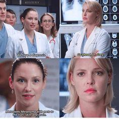 This scene always gets me Greys Anatomy Izzie, Greys Anatomy Episodes, Greys Anatomy Funny, Grey Anatomy Quotes, Grays Anatomy, Greys Anatomy Scrubs, Izzie Stevens, Grey Quotes, Dark And Twisty