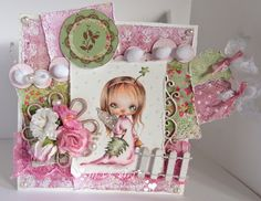 Hilde's cards: Ppinkydolls - Christmas Angel Christmas Angels, Christmas Ideas, Copics, Cute Girls, Dolls, Frame, Projects, Cards, Inspiration