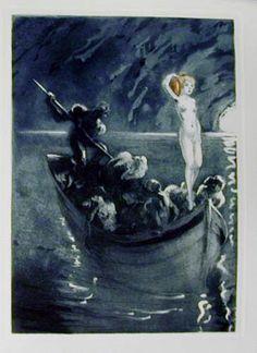 Louis Icart (French, 1888-1950). Les Amours de Psyché et de Cupidon by Jean de La Fontaine, 1949