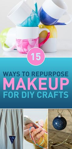 Do you have some old makeup lying around? Something that doesn't appeal to you anymore or doesn't fit your current style? Or a product that seemed great when you saw it in stores but turned out to be less appealing once applied? Or maybe something that's way past its due date? Don't be so quick to throw it away! Many things can be upcycled for DIY purposes and makeup is no exception. Everything, from makeup itself to its containers can be reused and given new life in the form of DIY…