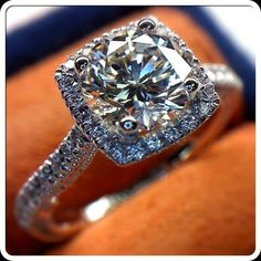 Elegant Insignia-7056 engagement ring with the 1.50 carat round diamond by Veragio. Yes PLEASE!!!