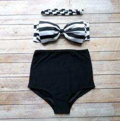 Bow Bandeau Bikini