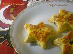 Antipasto a forma di stella, raffinato e gustoso, clafoutis di verdure. Semplice da preparare cuoce in forno e contiene pochi grassi. Da provare.