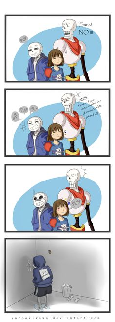 Undertale comic_bad_influence by yayoiakikawa on DeviantArt
