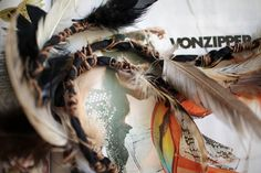 Feather Hair Accessory...pin it and forget it! Super cute!