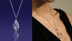 Top Most Expensive #Diamond #Necklaces in the World - Briolette Diamond Necklace | Price: US $11.1 Million