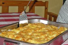 Birnen-Kartoffel-Gratin - Rezept Macaroni And Cheese, Ethnic Recipes, Food, Gratin, Warm Kitchen, Veggie Food, Oven, Pears, Food Food