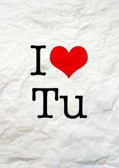 Tú eres mi verdadero amorcito!