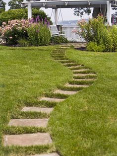 I want a little path like this someday, with a secluded area for peace and quiet