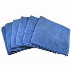 Progo Ultra Absorbent Microfiber Cleaning Cloths for LCD/LED TV, Laptop Computer Screen, iPhone, iPad and more. Computer Equipment, Amazon Electronics, Flat Panel Tv, Homemade Cleaning Products, 6 Pack, Clean Microfiber, Cleaning Solutions, Car Detailing, Housekeeping