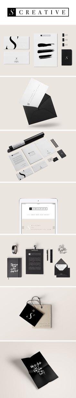 Personal branding by ESSE CREATIVE  #branding #identity #stationery
