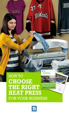 Whether you're new to heat printing and looking for your first heat press, replacing your existing press with a new model, or adding a heat press to increase your business's production, you need to know what to look for. From basic elements like press type, even pressure, and temperature, to innovations like custom platens, this Free guide will teach you about the functionality and features of the latest heat presses.
