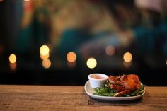 WHOLE SOFT SHELL CRAB    Seafood from the A La Carte Menu    Shallow fried soft shell crab seasoned