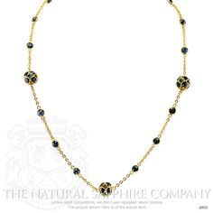 13.06ct Blue Sapphire Necklace Image 2