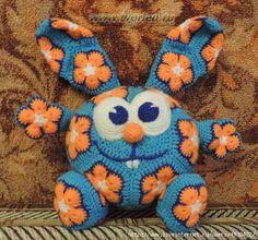 Delicadezas en crochet Gabriela: Muñeco de motivos