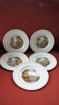 5 Wedgwood Edme China plates. Wedgwood