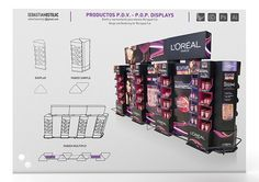 Mobiliario P.D.V. - P.O.P. Displays on Behance
