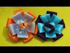 D.I.Y. Quick & Easy Satin Ribbon Flower - Tutorial | MyInDulzens - YouTube