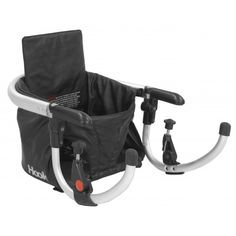 Joovy - Hook Booster Seat - Black Leatherette