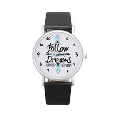 46252026c38 Dámské hodinky s nápisem v ciferníku černé- 30 % SLEVA + POŠTOVNÉ ZDARMA Na  tento