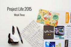 Amca Design: PROJECT LIFE - Year 2015 Week three