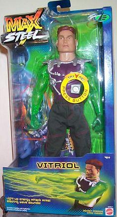 Max Steel Vitriol Figure