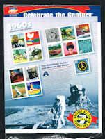 US 3188 Stamps - Celebrate the Century CTC 1960s Stamps and Album - US 3188-1 OP