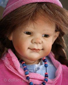 Maximiliane. Авторская фарфоровая кукла Susi Eimer | Doll Art Guru