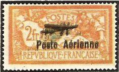 """1927 - 1° Salone aeronautico internazionale - Allegoria tipo """"Merson"""" soprastampato - 2 f."""