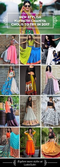 31 New Navratri Chaniya Choli Designs to Try in 2017 Looking for inspiration to design extra ordinary patterns and colour combination this navratri? Find out 31 Intricating collection of Navratri Chaniya Cholis to Try in 2017 Chaniya Choli Designer, Garba Chaniya Choli, Garba Dress, Navratri Dress, Lehenga Choli, Wedding Chaniya Choli, Choli Dress, Dress Skirt, Choli Blouse Design