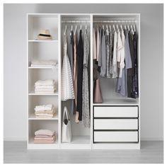 Delicieux IKEA   PAX Wardrobe White