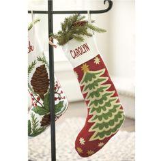 santa freestanding christmas stocking holder christmas tree shops andthat christmas. Black Bedroom Furniture Sets. Home Design Ideas