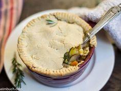 Fully-loaded vegetable pot pie [Vegan, Gluten-Free]