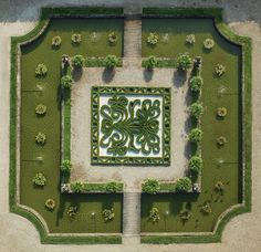 Baroque garden in Germany