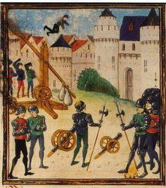 Couillard, enluminure du XVe siecle, BNF, FR87 (tire du livre de R. Beffeyte) France / illumination
