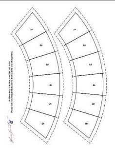 small double wedding ring templates