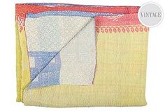 Kantha a type of stithery popular among rural women from India