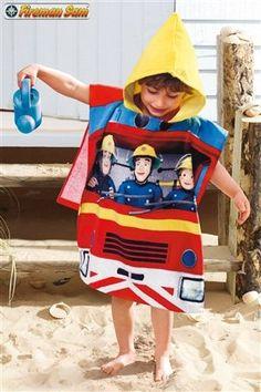 Boys Fireman Sam Poncho