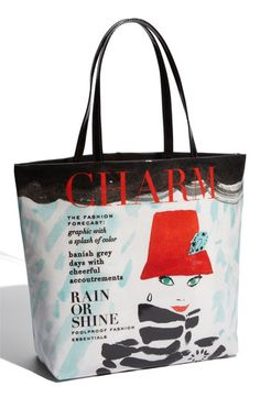 All the places you go this spring, you'll need to tote around with a chic tote! We love this kate spade new york 'daycation - rain or shine' canvas shopper!