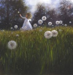 'A Light in the Distance' - New To Print..dandelion art
