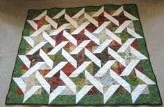 Friendship Star Ribbon Quilt project on Craftsy.com
