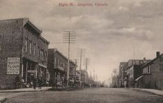 Old Time Arnprior Ontario, Street View, Canada, Spaces, Pictures, Photos, Photo Illustration, Resim, Clip Art