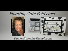 Floating Gate Fold Card - Discover recipes, home ideas, style inspiration and other ideas to try. Flip Cards, Fun Fold Cards, 3d Cards, Folded Cards, Stampin Up Cards, Quick Cards, Baby Cards, Card Making Tutorials, Card Making Techniques