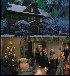 my favorite movie to watch at the holidays.  I want a house just like the one in the movie