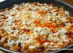 Vynikající oběd za 20 minut z jedné pánve Pasta Recipes, Chicken Recipes, Cooking Recipes, Healthy Recipes, Healthy Food, Good Food, Yummy Food, Salty Foods, What To Cook