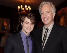 While filming Harry Potter and the Prisoner of Azkaban, Alan Rickman pulled a truly epic prank on co-star Daniel Radcliffe. | You Need To See This Video Of Alan Rickman Pranking Daniel Radcliffe