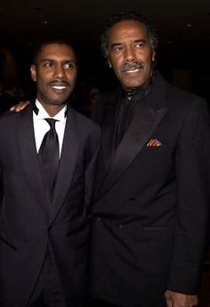 Son and Father actors Kevin and Robert Hooks
